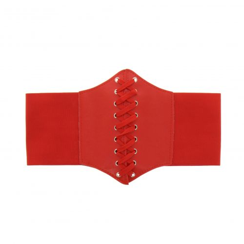 SOANA leatherette corset belt