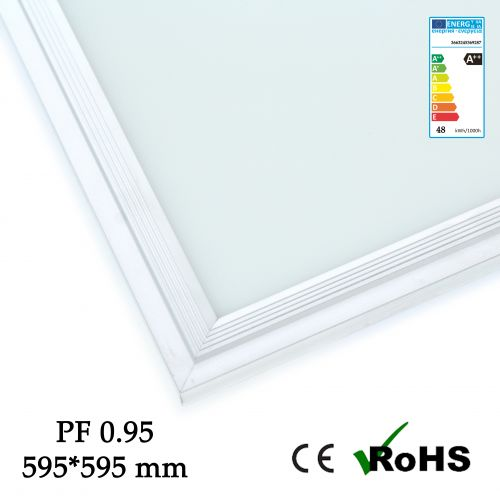 5 x Panneau LED 60 x 60 cm 48w