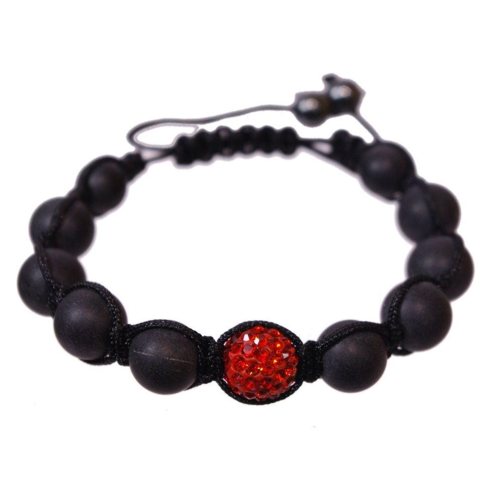 1 pearl shamballa bracelet, THELMA