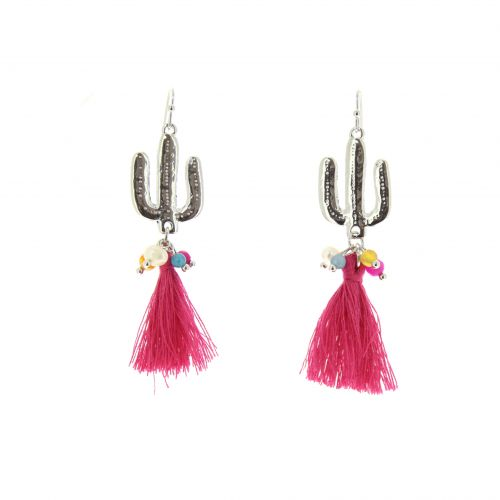 Tassel, drop, dangling woman Earring ASSILA