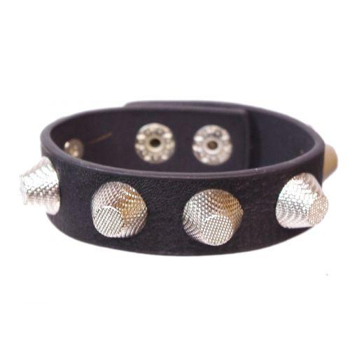 bracelet similicuir cloutés, BR42-17
