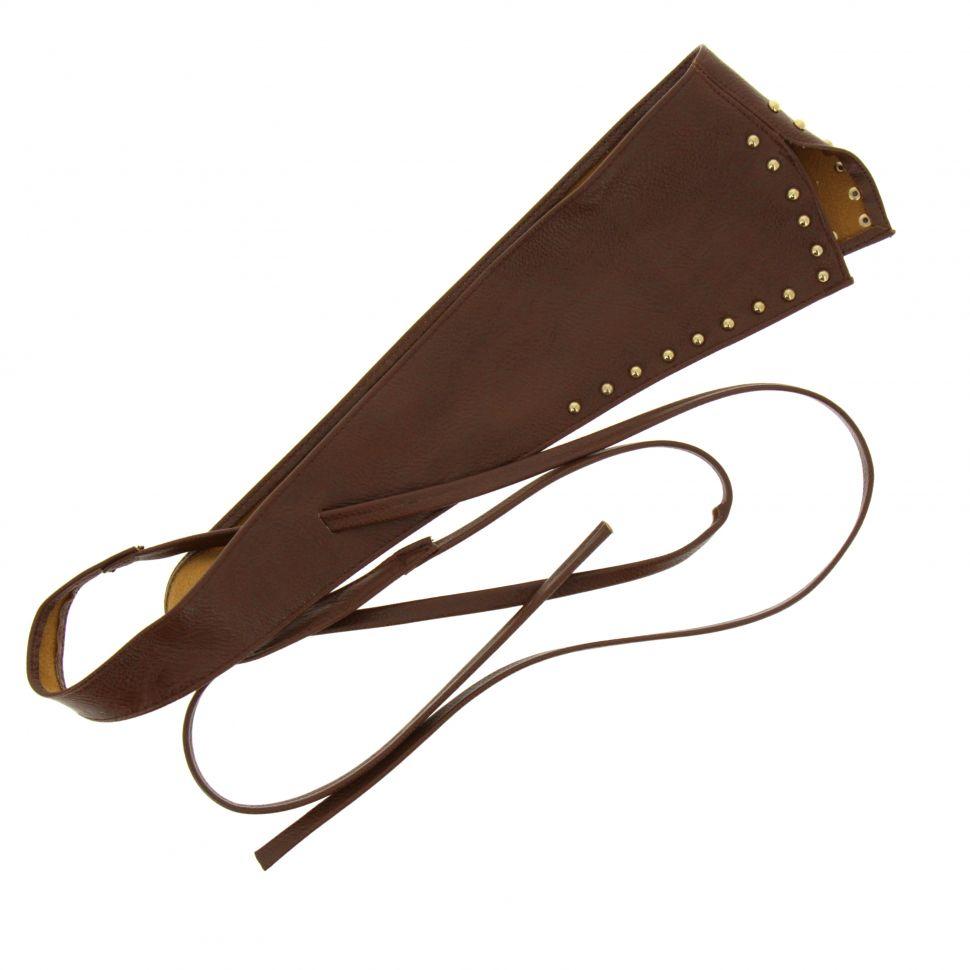 LEHNA Large leatherette belt