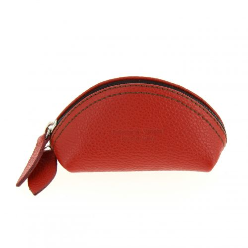 Women Leather Small Mini Wallet Holder Zip Coin Purse, EVANNE