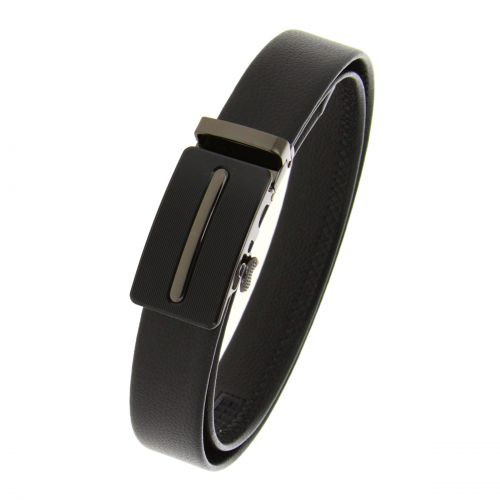 Leather Automatic Buckle Belt WILLIAM