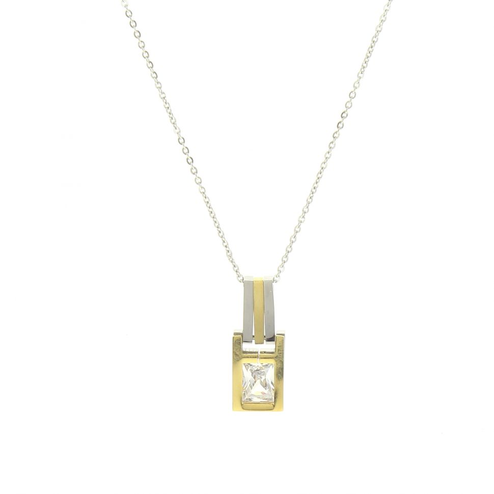 S052-25 Stainless steel necklace