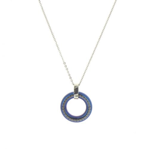 collier anneau runique, S052-3