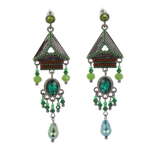 50mm Gerda creole earrings
