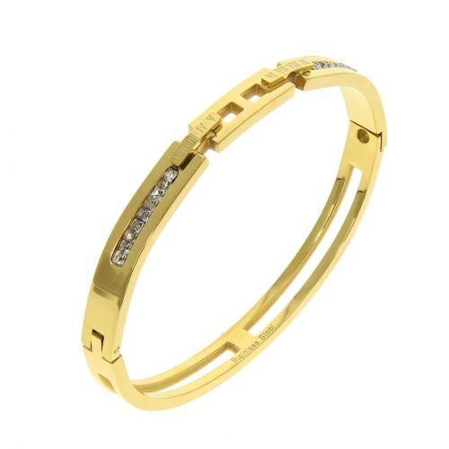 Stainless steel bracelet, Garance