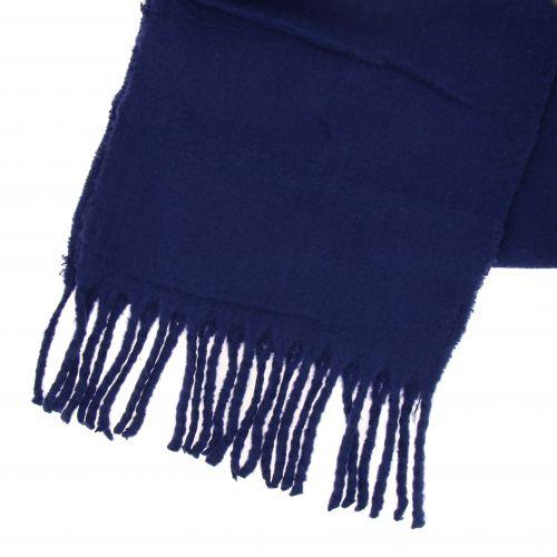 Echarpe femme oversize laine, frange frisé SARAH