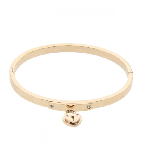 Zirconium crystal Stainless steel bracelet, BENITEZ