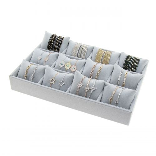 12 Divided Compartments bracelet display