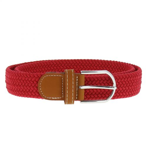 woman braided stretch belt, ERELL