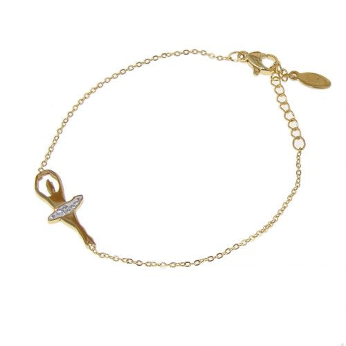 """Ballerina"" stainless steel bracelet, SOLEA"