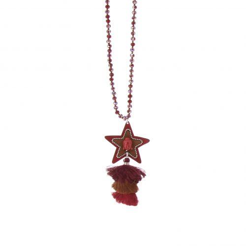 Sautoir 90 cm étoile LIVIA