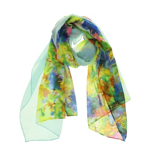 Woman's Scarf, silk imitation, CHIARA