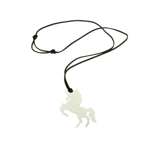 Sautoir pendentif XL Licorne, LOLINE