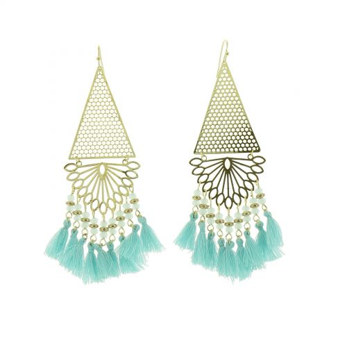 Tassel earrings, LUCINDA