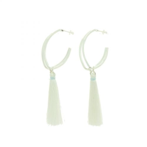 Tassel hanging dangle earring, PAIGE