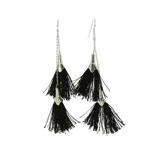 Tassel hanging dangle earring, PAIGE