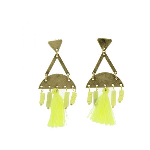 Tassel hanging dangle earring, OLIVIA