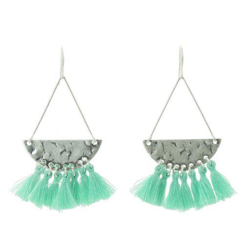 Tassel hanging dangle earring, OLIVIA