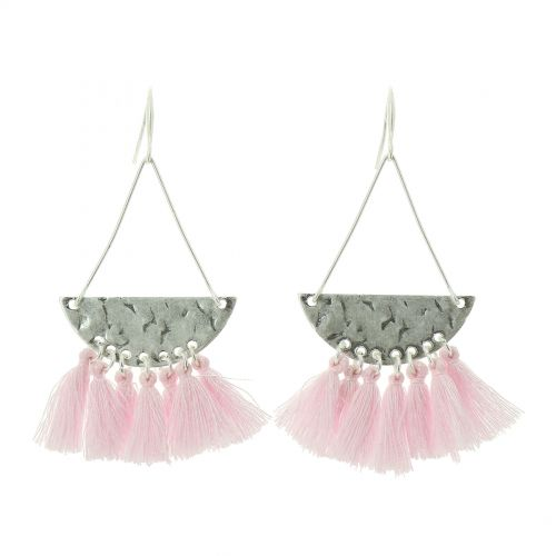 Tassel hanging dangle earring, KRISTIINA