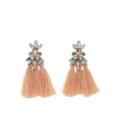 Hanging fringed tassel earrings, SOPHIA