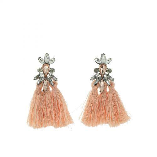 Hanging fringed tassel earrings, SOPHIA