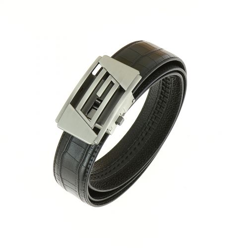 Leather Automatic Buckle Belt SAMUEL