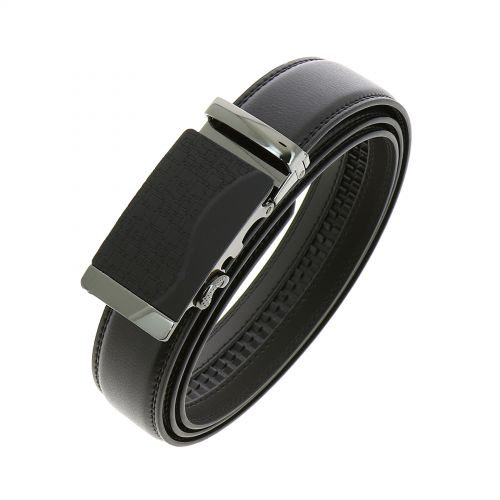 Leather Automatic Buckle Belt MICHAEL