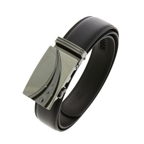 Leather Automatic Buckle Belt DECLAN
