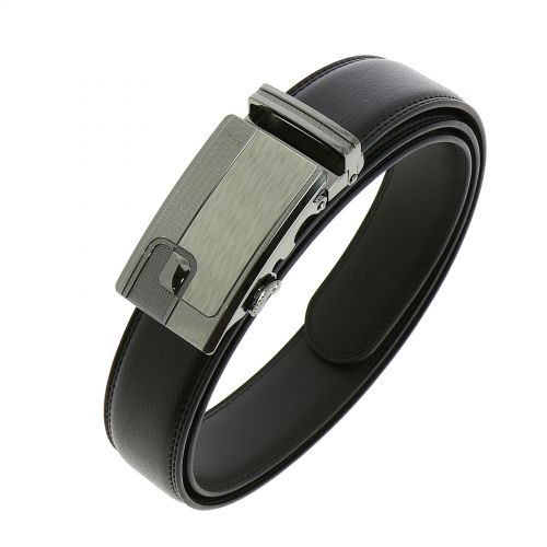 Leather Automatic Buckle Belt MATT