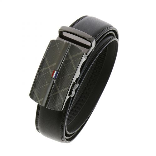 Leather Automatic Buckle Belt GARY
