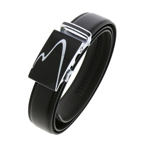 Leather Automatic Buckle Belt MARVIN