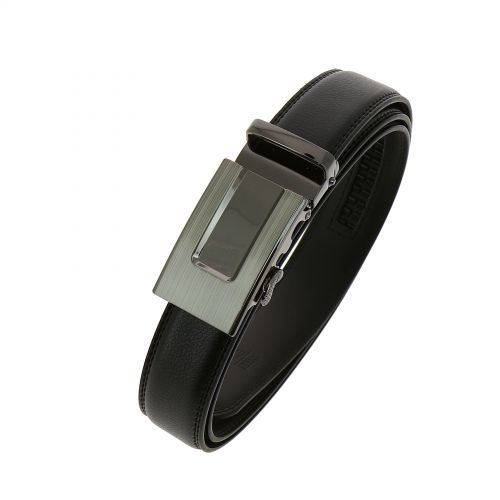 Leather Automatic Buckle Belt JOHN