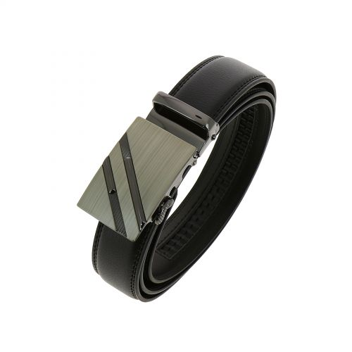 Leather Automatic Buckle Belt BERTRAM