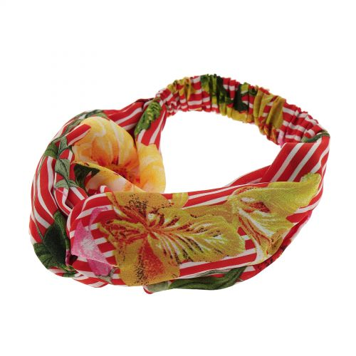 Woman printed confortable, headband, hairband PAULA