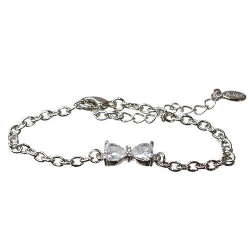 Bracelet bow tie rhinestone REECE