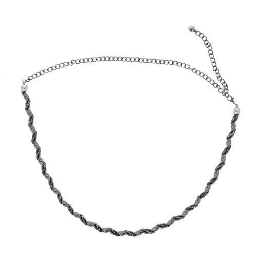 Metallico Catena Elastica Cintura da Donna GIGI
