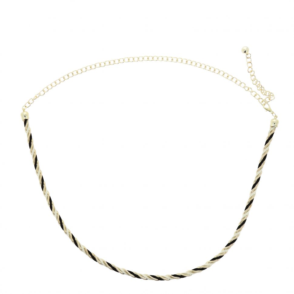 Woman's Lady Fashion Metal Chain Style Belt, LAURRAINE