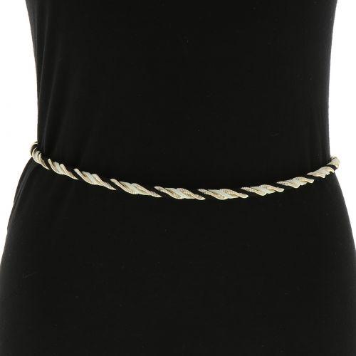 Woman's Lady Fashion Metal Chain Style Belt, GIGI