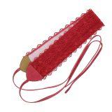 Woman Lace waisband Obi Belt, Florita