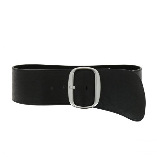 Woman Wide faux leather belt, EMILY
