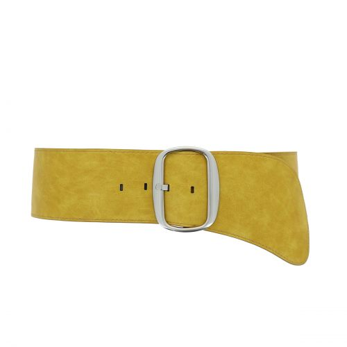 Woman Wide faux leather belt, EMILY