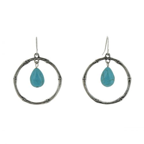 Long dangle earrings, DONNA