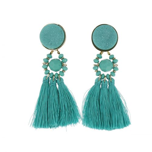 Hanging tassel earring, LEALA