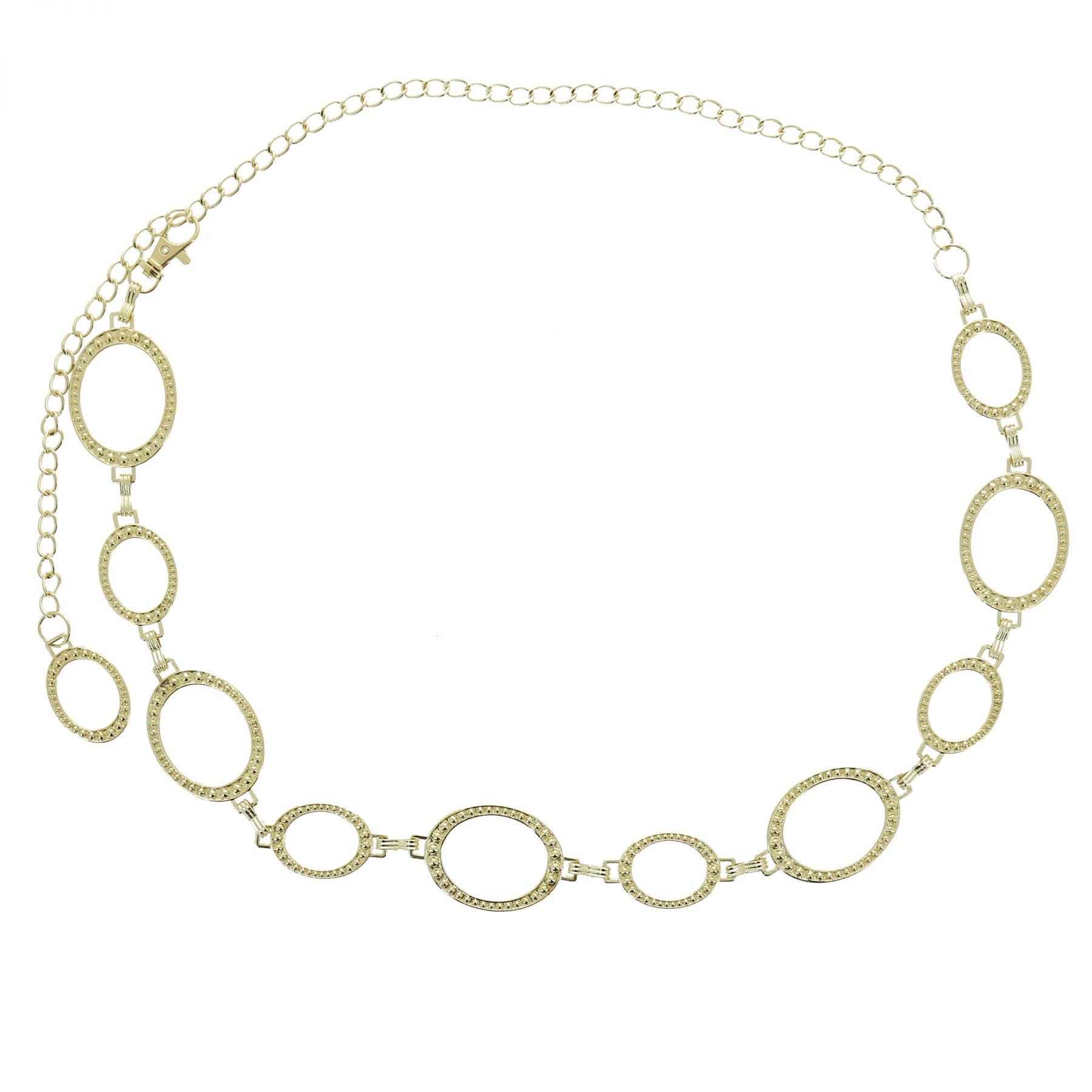 Ceinture chaîne médaillon pour femme LAURRAINE. Loading zoom 2555df61048