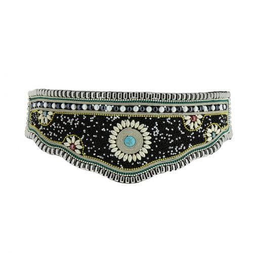 Extra larga cintura di perle CYRIANE