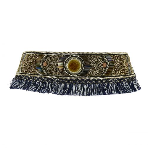 Women'S Fashion Lady Handmade Mosaic Wide Belt, JILL