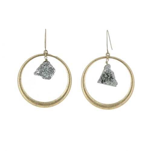 women dangle earring, ARIELLE